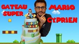 GATEAU SUPER MARIO POUR CYPRIEN VIDEO CITY  MARIO CAKE   CAKE DESIGN