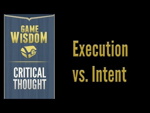A Critical Thought On Execution Vs. Vision When Examining Games