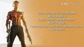 Get Ready To Fight Reloaded (LYRICS) | Baaghi 3 | Pranaay & Siddharth Basrur |