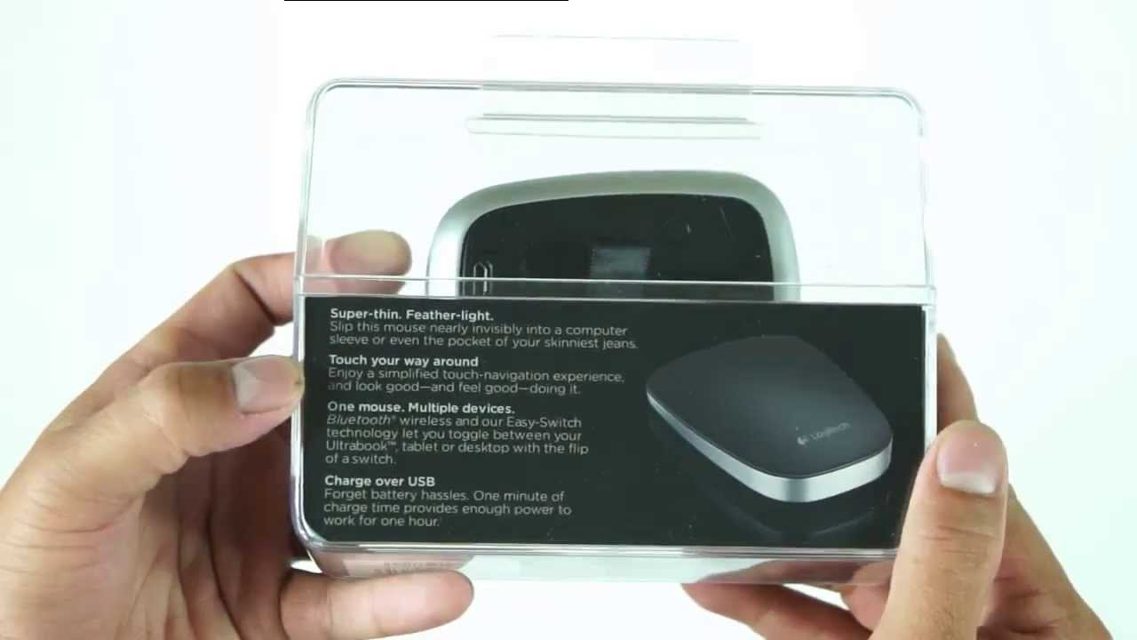 Logitech UltraThin Touch Mouse T630  unboxing + Full Review - YouTube 7b072ad034fad