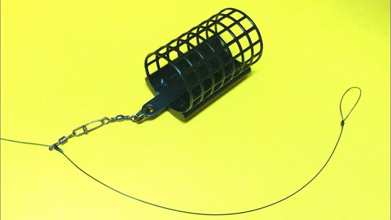 Фидерная оснастка running feeder rig | фидерный монтаж на плетеном шнуре | фидер для начинающих