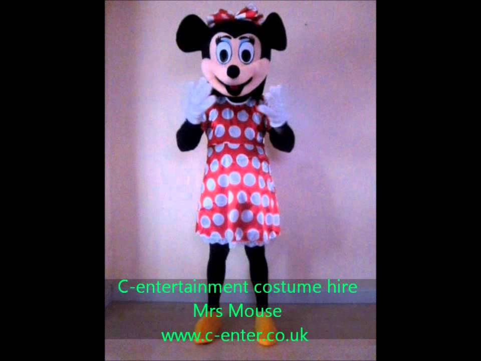 Costume Hire - Fancy dress - Mrs Mouse - Birmingham & Costume Hire - Fancy dress - Mrs Mouse - Birmingham - YouTube