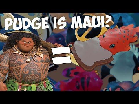 Disney Theory: Pudge is Maui?