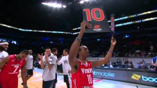 Jarvis Threatt goes between-the-legs to win the NBA D-League Dunk Contest!