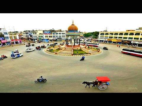 Mysore City Tour Within 5 Minutes -The Cleanest City of India 2017