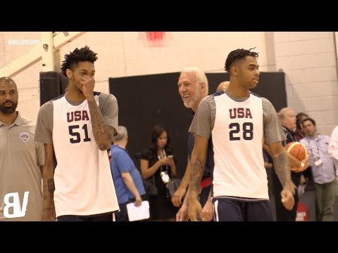 Team USA Select 2016 Practice & Scrimmage | Team USA Basketball July 2016