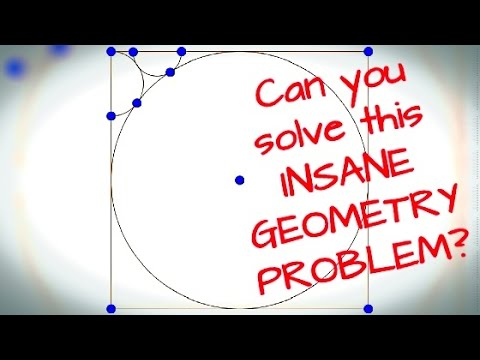 Can you solve this INSANE GEOMETRY PROBLEM for 8th graders?