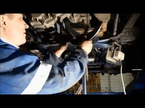 Митсубиси Паджеро Спорт замена сальника АКПП. ремонт автомобиля