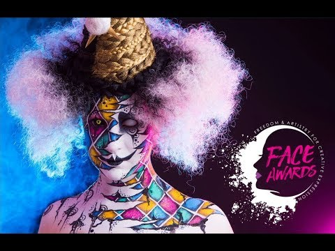 [ THE MONOCYCLIST  ] 🍭FACE AWARDS FRANCE 2018 🍭  FIRST CHALLENGE  🎈« PSYCHEDELIC CIRCUS » 🎈