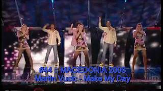 The Best of Eurovision 2001-2010 (My Top 50) - Part I