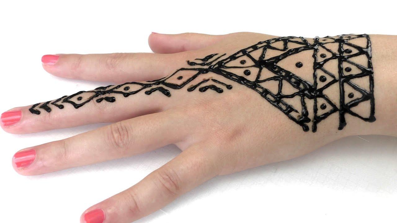 tattoo mit henna sommer trend wir gestalten uns gegenseitig henna tattoos youtube - Henna Muster Fur Anfanger