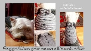 cappottino per cane all'uncinetto tutorial (parte 2)