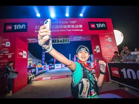 The North Face 100 Beijing 2014 ,China ! #Angela GoPro selfie #