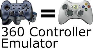 Gambar cover Jeden Controller als Xbox Controller emulieren [HowTo - Tutorial]