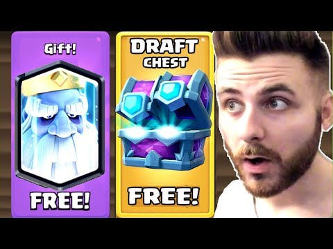MI-AU PICAT 20 DE LEGENDARE DIN 10 DRAFT CHEST-URI - CLASH ROYALE !