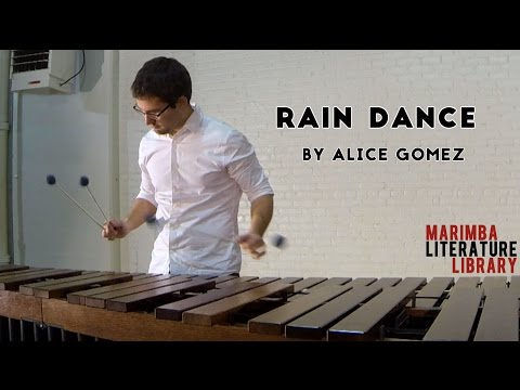 Rain Dance, by Alice Gomez - Marimba Literature Library