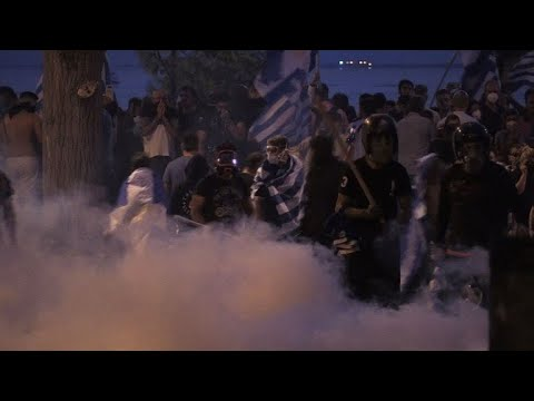 Protest turns violent in Greece over name dispute with Macedonia