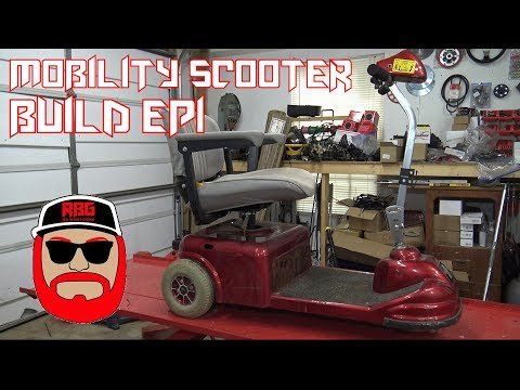 Gas Powered Mobility Scooter Build Ep1 - (Predator 212)