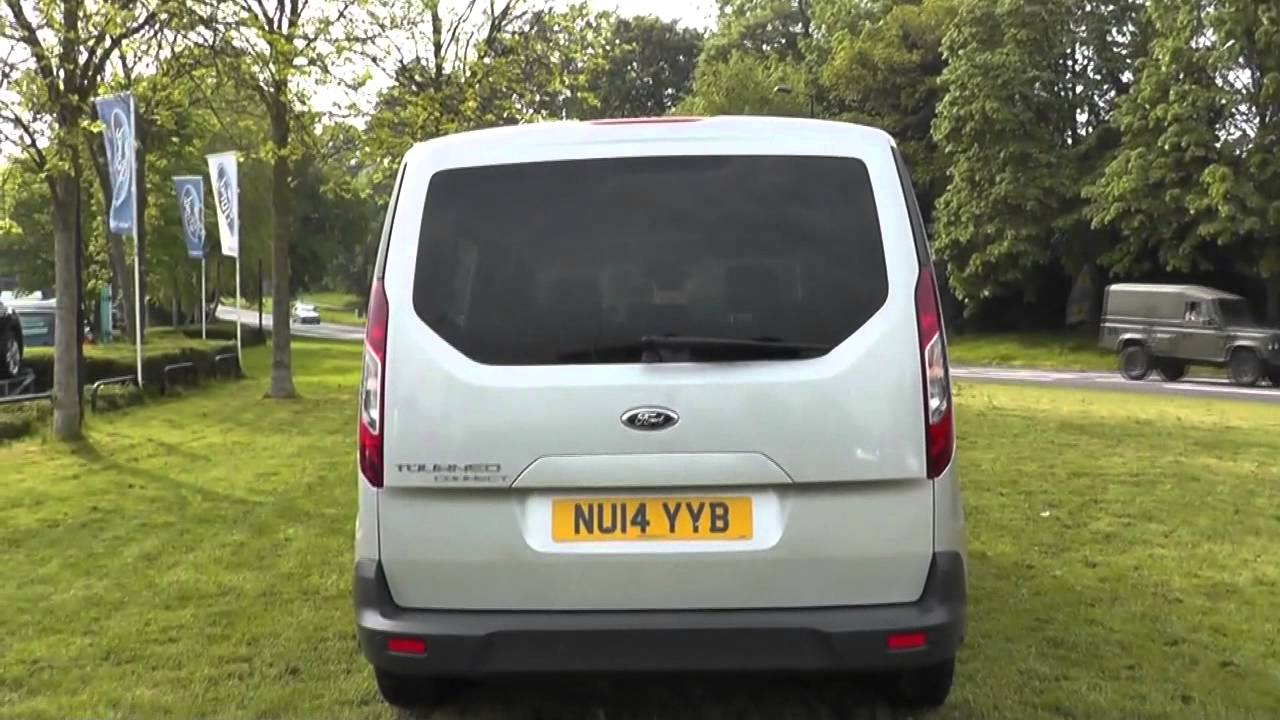 Ford Tourneo Connect 16 Zetec 115ps 6spd 5 Seater U24062