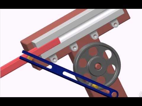 Quick Return Or Whit Worth Mechanism Youtube
