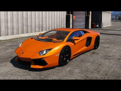 Gta V Lamborghini Aventador Lp700 4 Mod Youtube