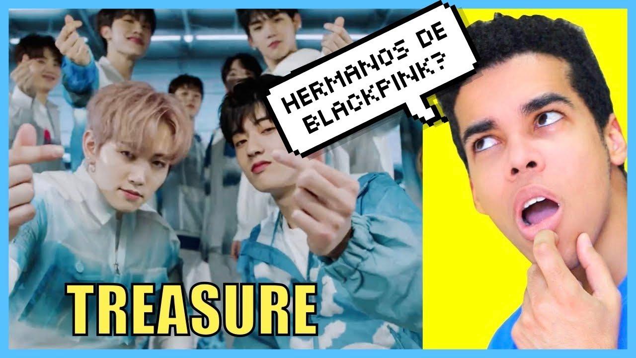 """REACCIONANDO AL GRUPO HERMANO DE BLACKPINK TREASURE Y A SU CANCIÓN """"I LOVE YOU"""" 🔥🔥"""