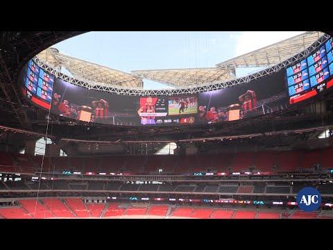 VIDEO: Inside Mercedes-Benz Stadium
