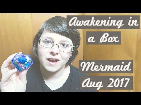 Awakening In a Box // Enlightened Mermaid Magick 🏖️✨ // August 2017