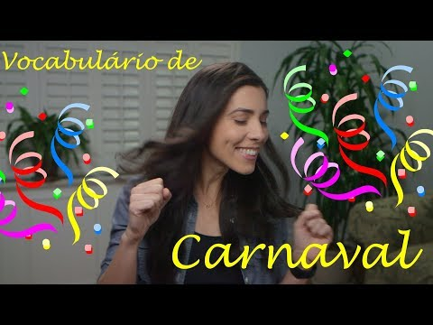 Brazilian Carnival Vocabulary