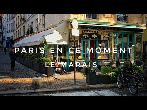 🇫🇷 WALK IN PARIS ( LE MARAIS ) 19/10/2020 PARIS 4K