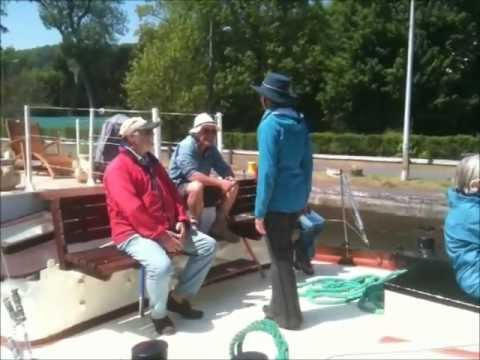 Barge Nilaya - The funnier side of barge cruising in France
