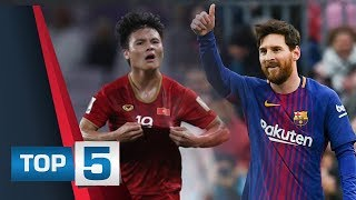 5 điều đọng lại trận Việt Nam - Yemen: Quang Hải mang hình hài Messi