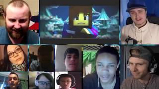 """Judgement""| Minecraft Undertale Music Video (by EnchantedMob) [REACTION MASH-UP]#26"