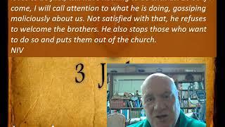 Lesson 4 3 John 9-10 June 9, 2020