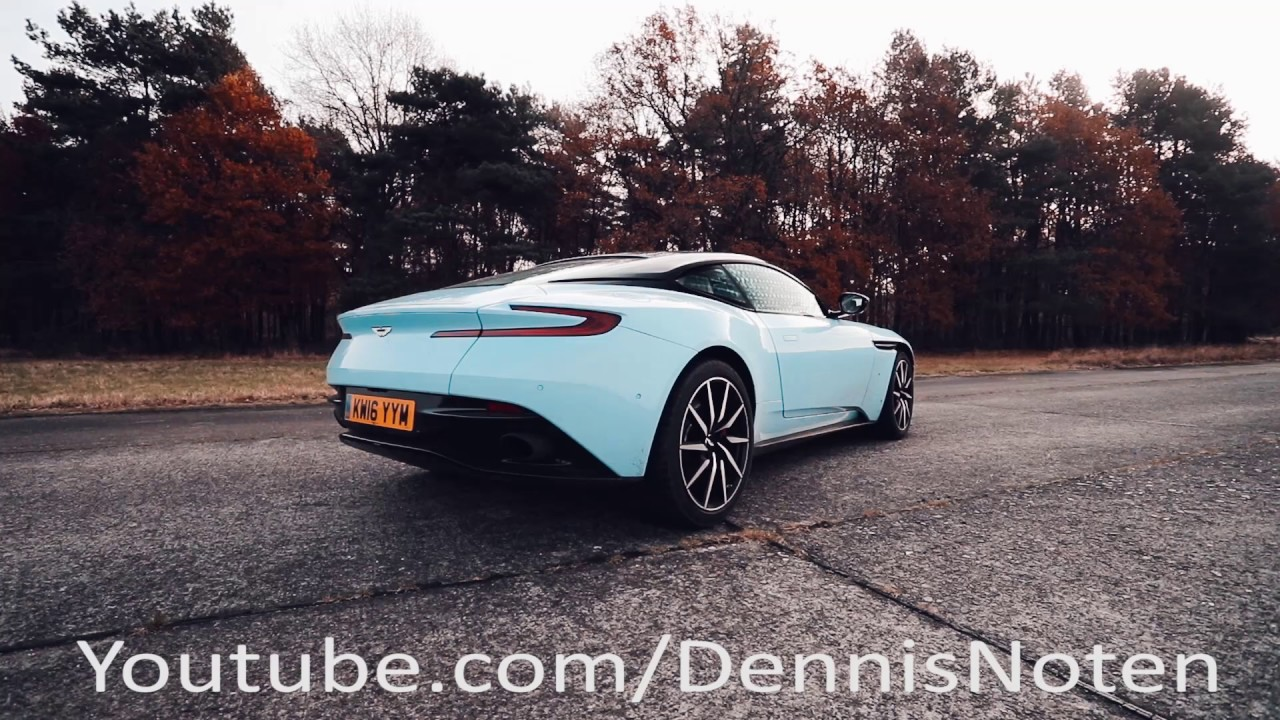 Aston Martin Db11 Startup Revving And Acceleration Youtube