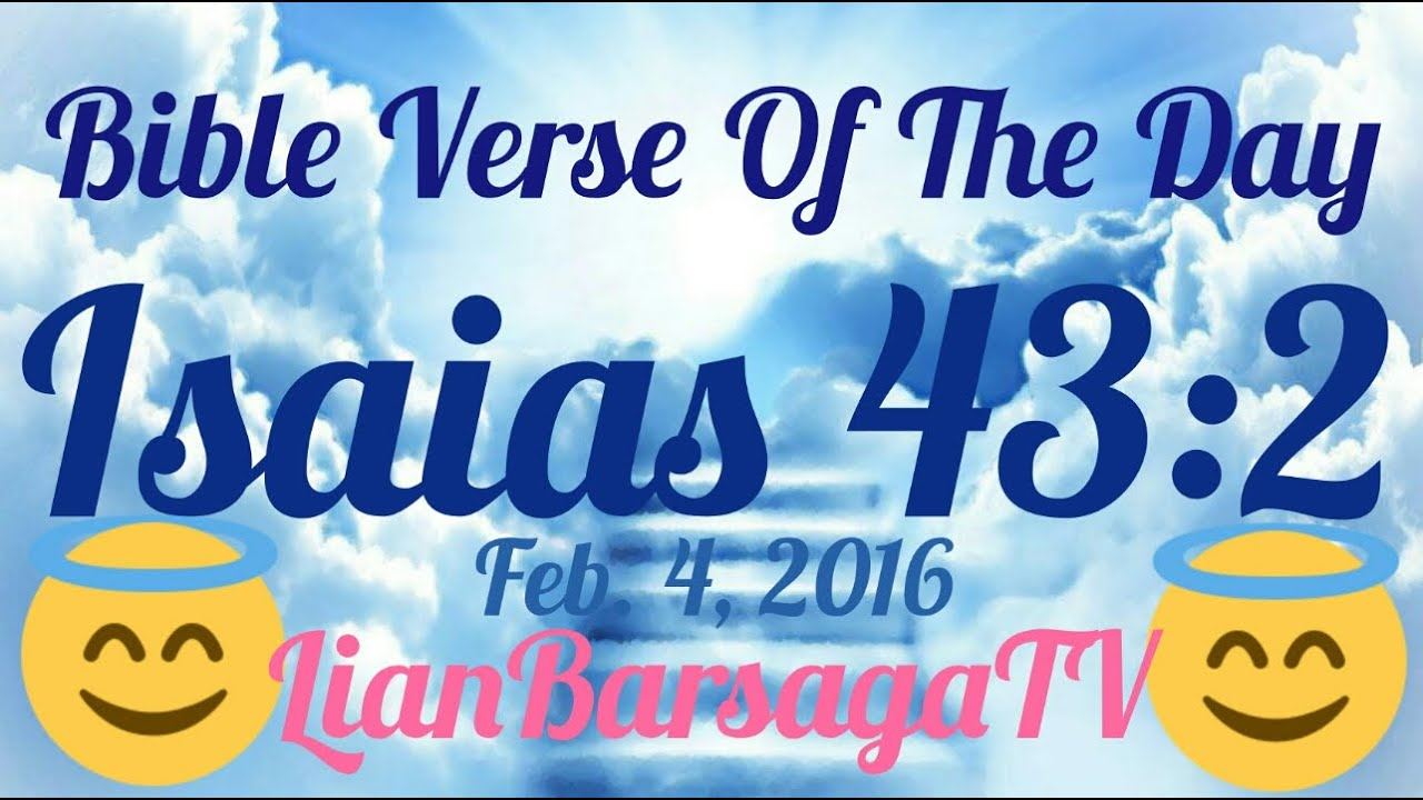 Bible Verse Of The Day Feb 4 2016 English And Tagalog Youtube