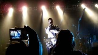 "White Lies ""Holy Ghost"" LIVE Stuttgart 2011"