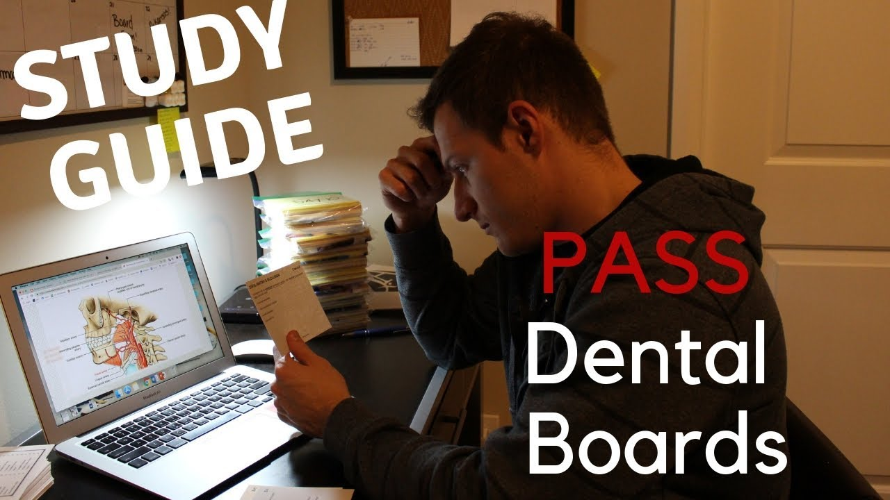 Dental Boards (NDBE 1) in Depth Review || How to PASS part 1 IN 2 WEEKS