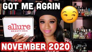 ALLURE BEAUTY BOX UNBOXING!| NOVEMBER 2020