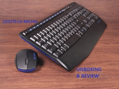 91b9f043f36 Logitech Wireless Combo Mk345 : Unboxing & Review - YouTube