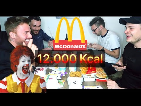 12.000 kcal McDonalds-Coupons in 30 min. Challenge !