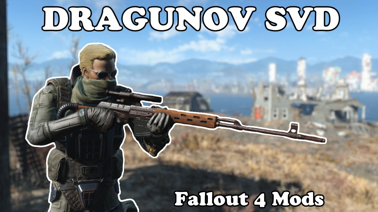 Dragunov Sniper Rifle at Fallout 4 Nexus - Mods and community