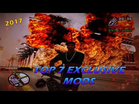 GTA San Andreas Top 7 Exclusive Mods 2017