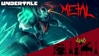 Undertale - Battle Against a True Hero 【Intense Symphonic Metal Cover】
