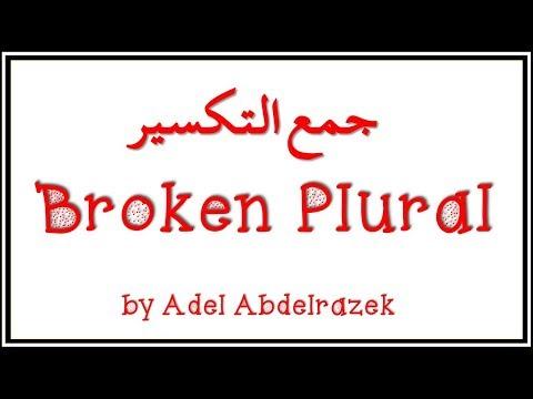 Broken plural ( جمع التكسير )
