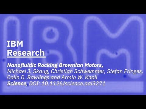 Nanofluidic Rocking Brownian Motors