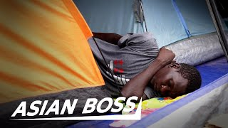 Life As A Refugee Stranded In Indonesia | ASIAN BOSS