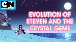 Evolution of Steven and the Crystal Gems | Steven Universe | Cartoon Network