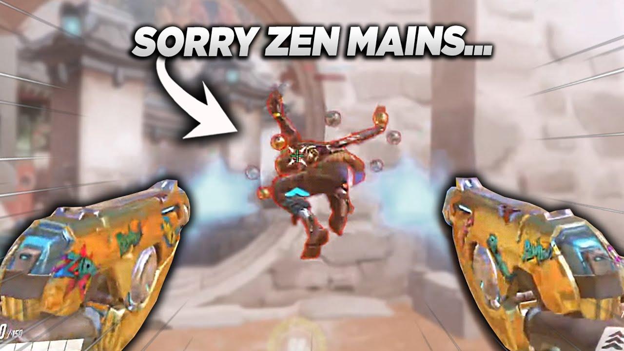 I'm sorry to all the ZENYATA mains...