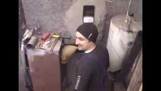 Строительство котельной часть 4  Установка твердотопливного котла(Очередное видео как я провёл выходные http://youtu.be/esp-Dl5l0EY Хобби, хэнд мэйд, ремесла, творчество, своими рукам..., 2013-12-26T22:31:49.000Z)